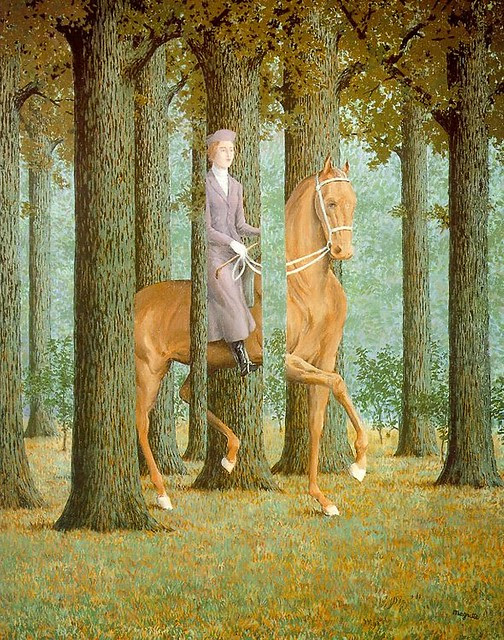 Magritte - The Blank Check