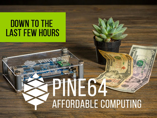 PINE A64, First $15 64-Bit Single Board Super Computer