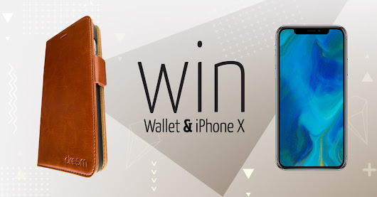 Win an iPhone X And 1 OF 111 iPhone Wallets