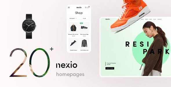 Nexio v1.0.7 - Fashion WooCommerce Theme + RTL