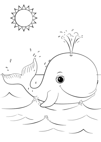 73 Top Cartoon Whale Coloring Pages Images & Pictures In HD