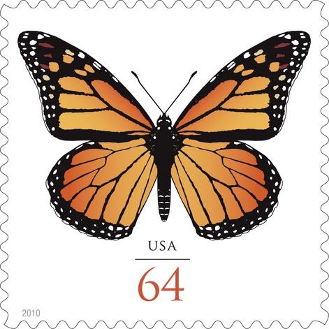 """Download TYWKIWDBI (""""Tai-Wiki-Widbee""""): New Monarch butterfly stamp ..."""
