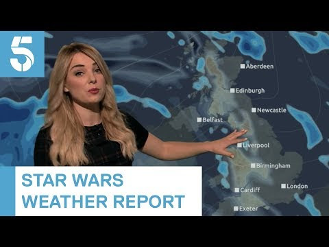 Weather Woman Embeds 12 Star Wars Puns In Report
