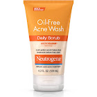 Neutrogena Oil-Free Acne Wash Daily Scrub - 4.2 fl oz tube