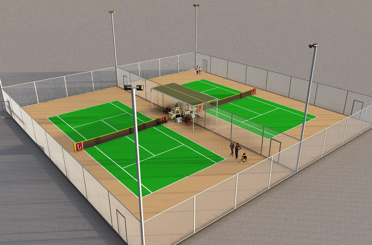 Sân Tennis tại Bright City
