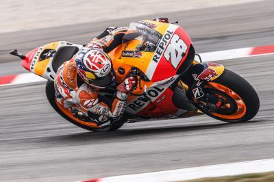 Victoria de Pedrosa en el Gran Premio Shell de Malasia