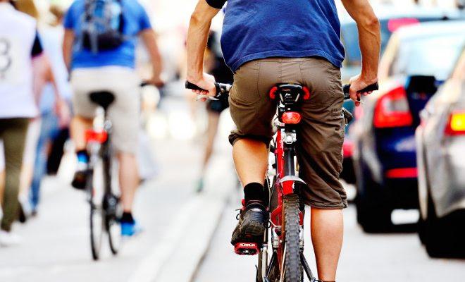 como andar de bike