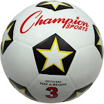 Champion Sports Soccer BALL; Size 3