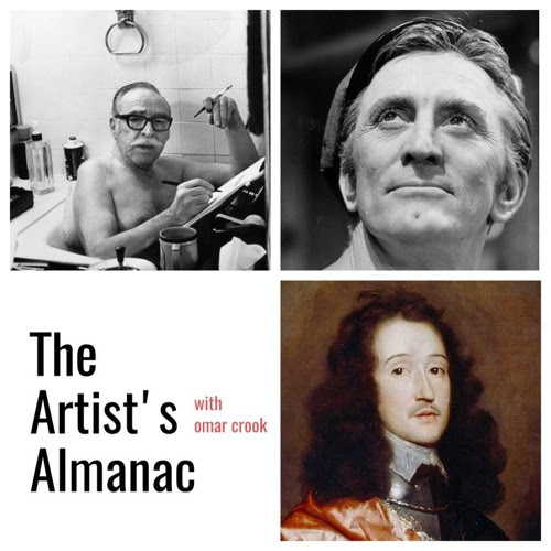 The Artist's Almanac For Dec 9th, 2017 Trumbo - Douglas - Lovelace by livingwithagenius