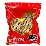 Hand-selected American Ginseng Root Medium Thin-Short Size (Gift Bag), 1lb