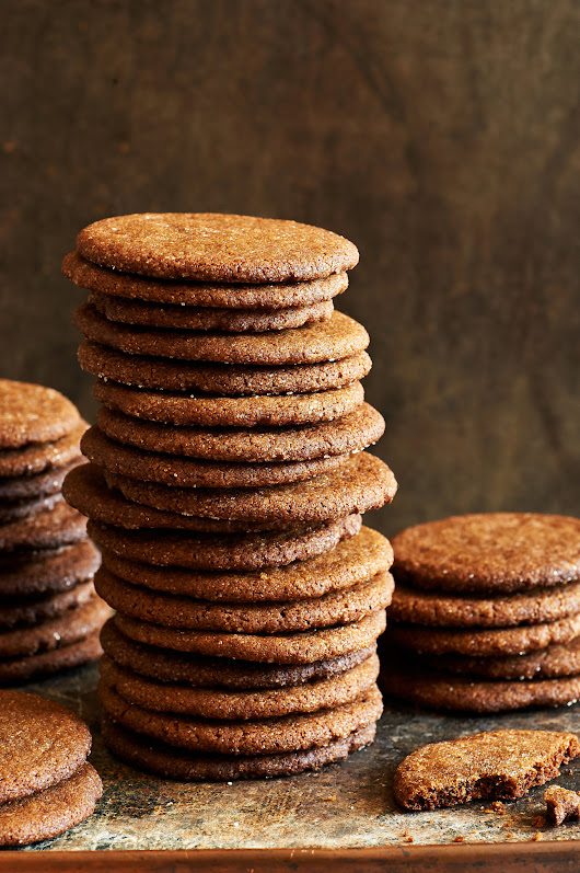 Bacon Fat Gingersnaps Recipe