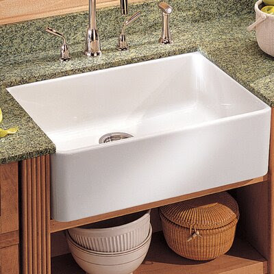 Barclay Double Basin Apron Front Farmhouse Fireclay Kitchen Sink