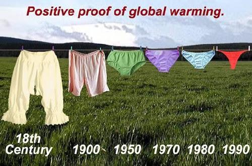 Lado positivo do aquecimento global