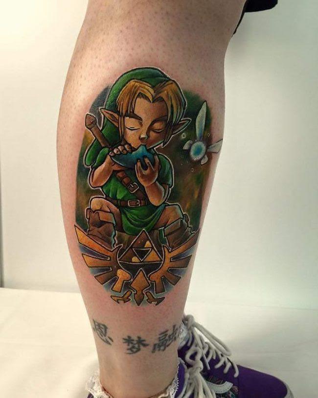 75+ Amazing Legend of Zelda Tattoos–Gaming Has Never