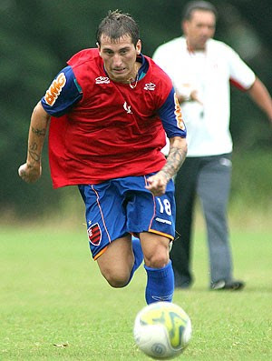 Bottinelli treino Flamengo (Foto: Maurício Val / VIPCOMM)