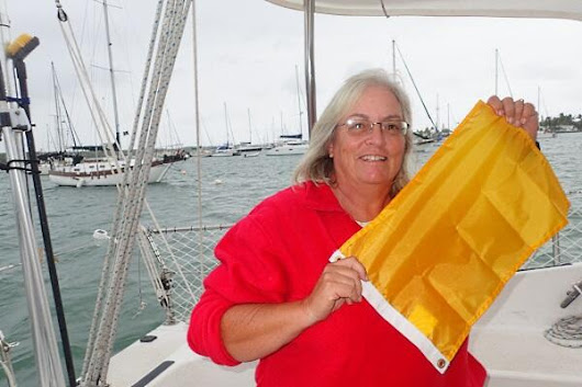Boat Radio – The Boat Galley – 44. The Q Flag
