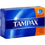 Tampax Super Plus Size 10s Tampax Soper Plus 10ct -PACK 9