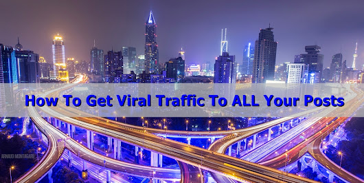 How to get Viral Traffic to ALL of your posts - Per-Erik Olsen