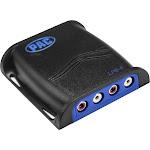 Pac - Locpro 4-Channel Line Output Converter - Black LP6-4
