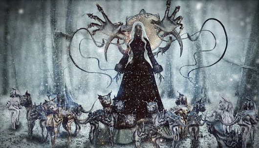 Mother Yule and Her 13 Yule Cats