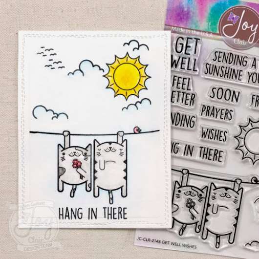 One Layer Card With Get Well Wishes - Living My Given Life