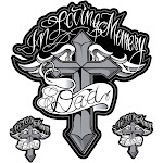 """Pilot Automotive 6"""" x 8"""" Decal in Loving Memory Dad"""