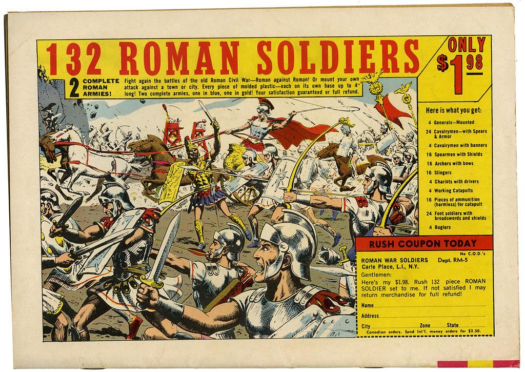 132 Roman Soldiers_tatteredandlost