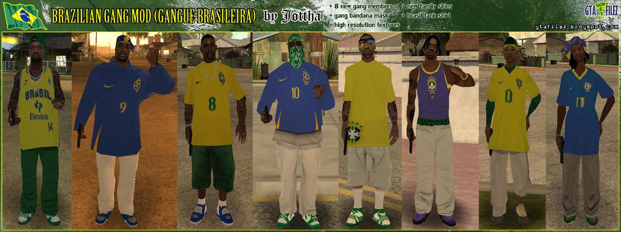 The Gta Place Brazilian Gang Mod