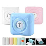 Mini Magic Wireless Photo Printer + 6 FREE Thermal Rolls