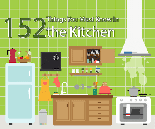152 Things You Must Know In the Kitchen – Ultimate Guide [Infographic]