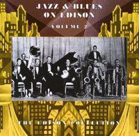 Jazz And Blues On Edison Volume 2