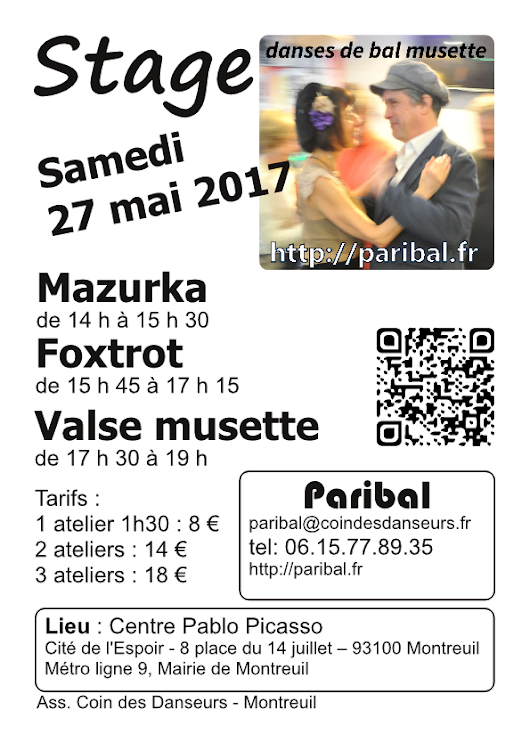 Stage du 27 mai 2017 - Paribal