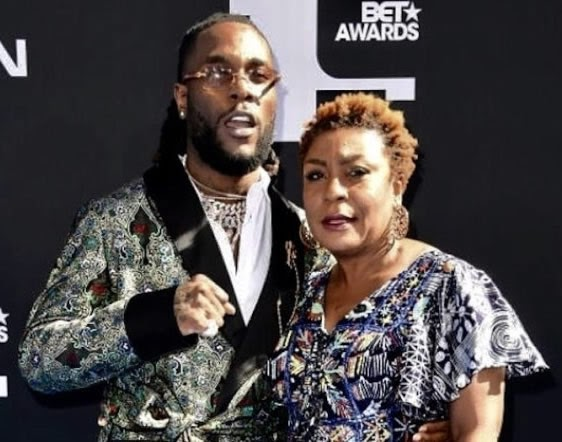 BET Awards:- Watch Burna Boy's Mother Speech That Shook The World (Video)