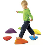 American Educational Products Gonge Riverstone, Multicolor - 6 pack