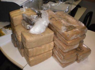 Pombal: Caboquinho e Negão são presos com 21 quilos de cocaína e maconha escondidos em carro