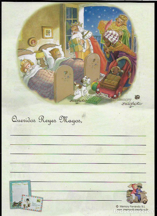 Postales: CARTA A los REYES MAGOS - FERRÁNDIZ - Foto 1 - 71222727