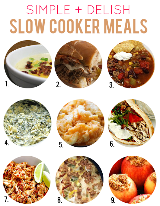 Simple + Delish: Slow Cooker Meals