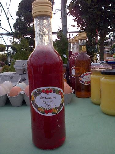 Strawberry syrup Feb 13