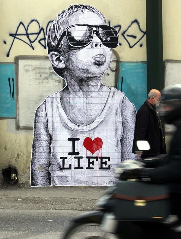 Amazing Huge Street Art on Building Walls (2)