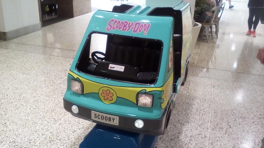 Amutec Ride On Entertainment Scooby Doo Mystery Machine