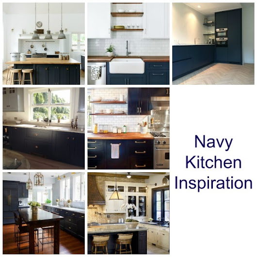 Is Navy the New Black when it comes to Kitchens? - Tradesmen.ie Blog