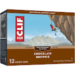 Clif Energy Bars, Chocolate Brownie - 12 pack, 2.40 oz per bar