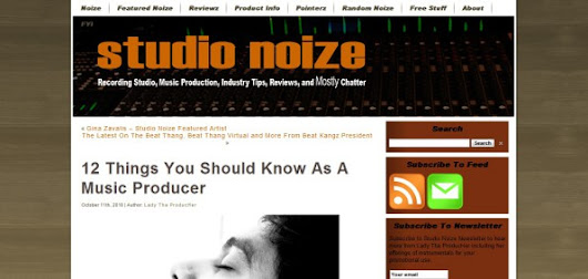 12 things you should know as a music producer