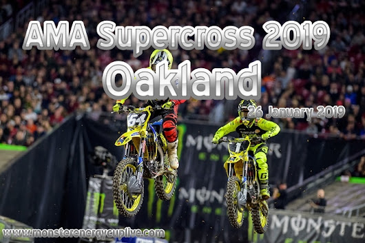 AMA Supercross Oakland 2019 Round 4 On NBC