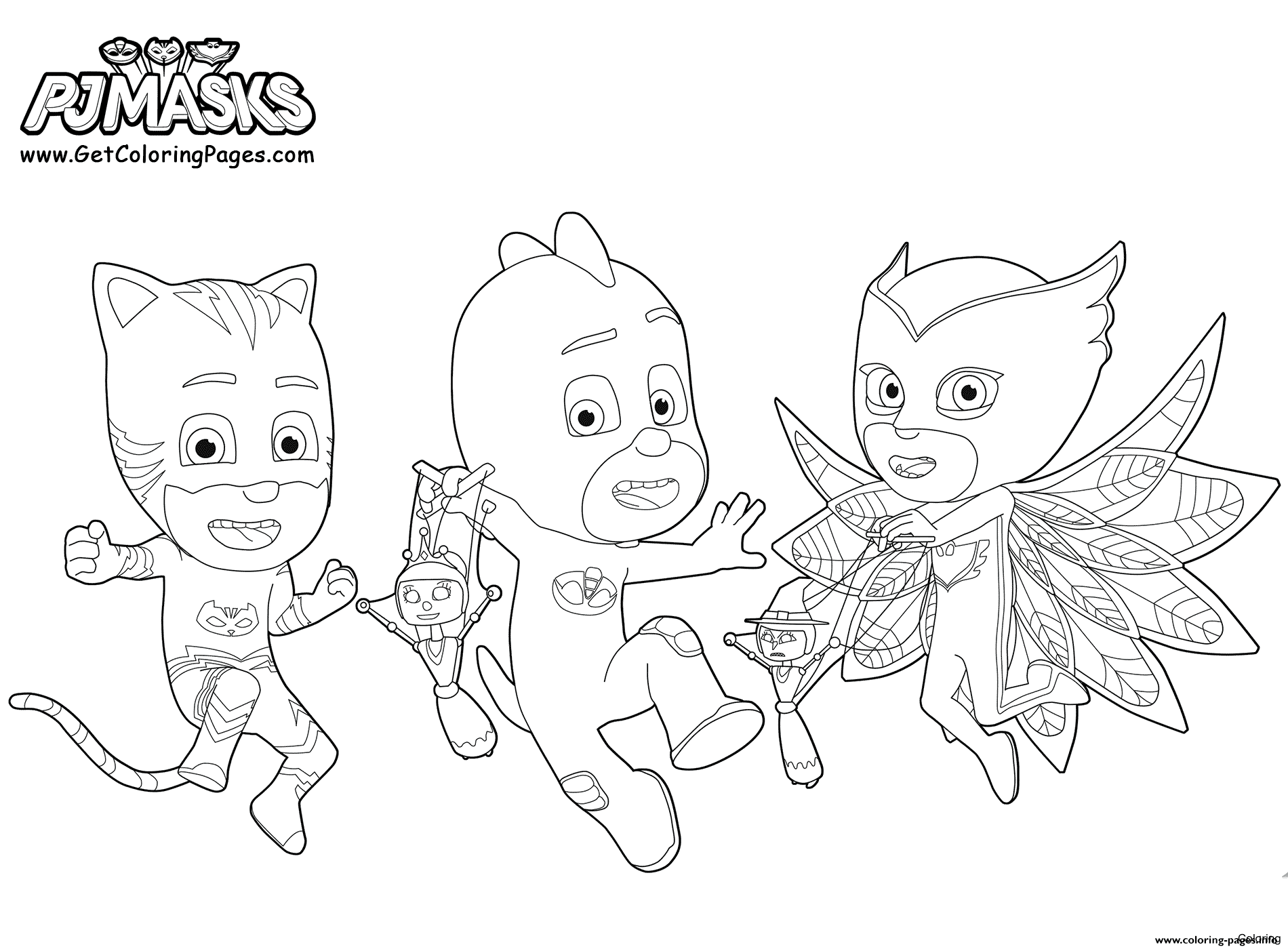 Wallpapers Hd References Pj Masks Gekko Mobile Coloring Pages