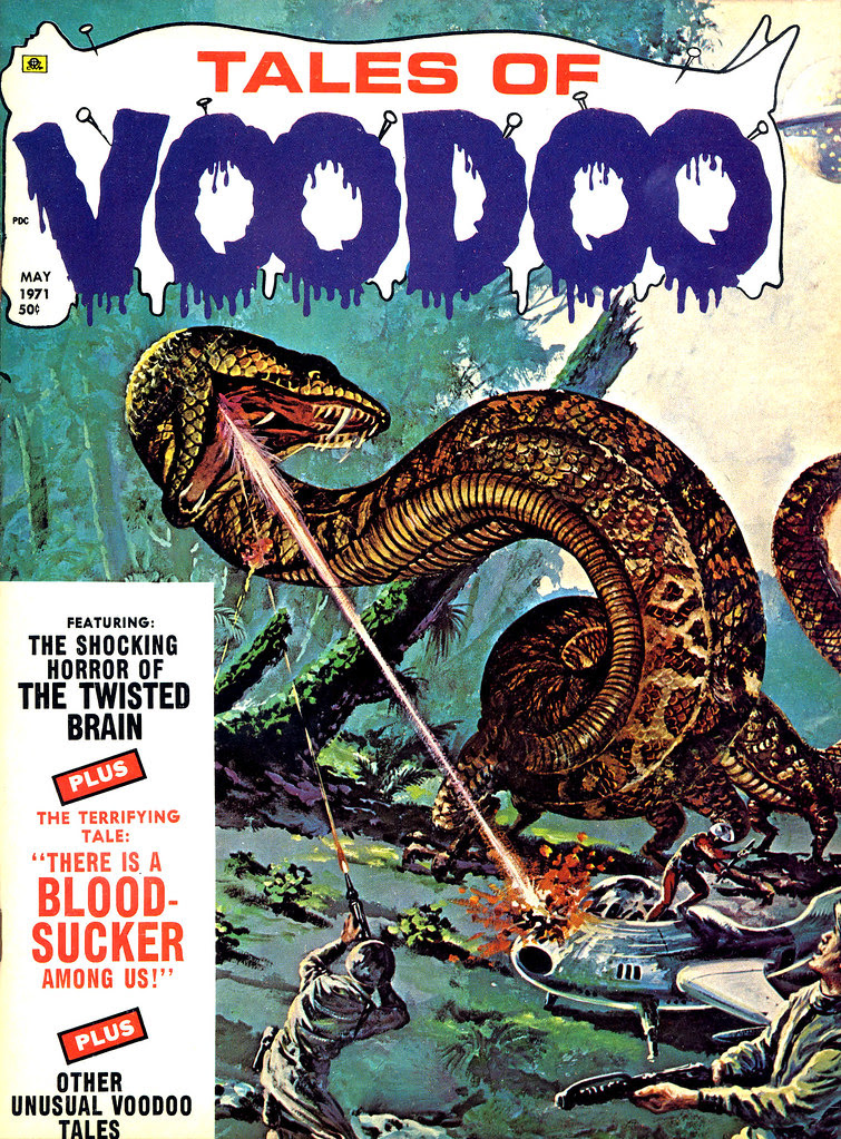 Tales of Voodoo Vol. 4 #3 (Eerie Publications, 1971)