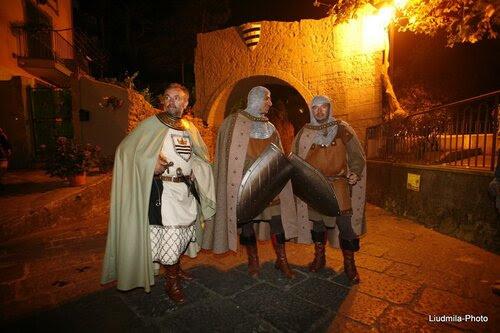 Прибытие Урбана II в бенедиктинский монастырь