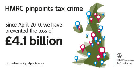 HMRC map pinpoints tax crime