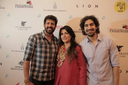 MAMI PRESENTS THE INDIA PREMIERE OF Oscar Nominated LION IN ASSOCIATION WITH PICTURE WORKS