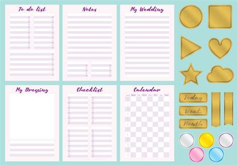 Wedding Organizer Vectors   Download Free Vector Art